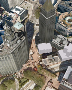 3D rendered by Google Earth