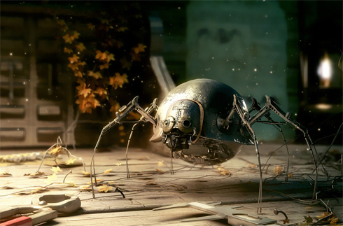 Arachnid Robot