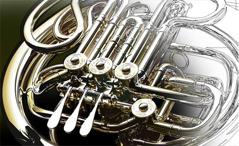Horn Detail, by Yukio Miyamoto
