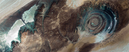 View the Richat Structure in Mauritania