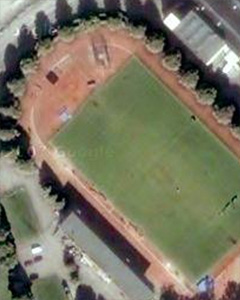 Stockholm Stadium by Google Earth